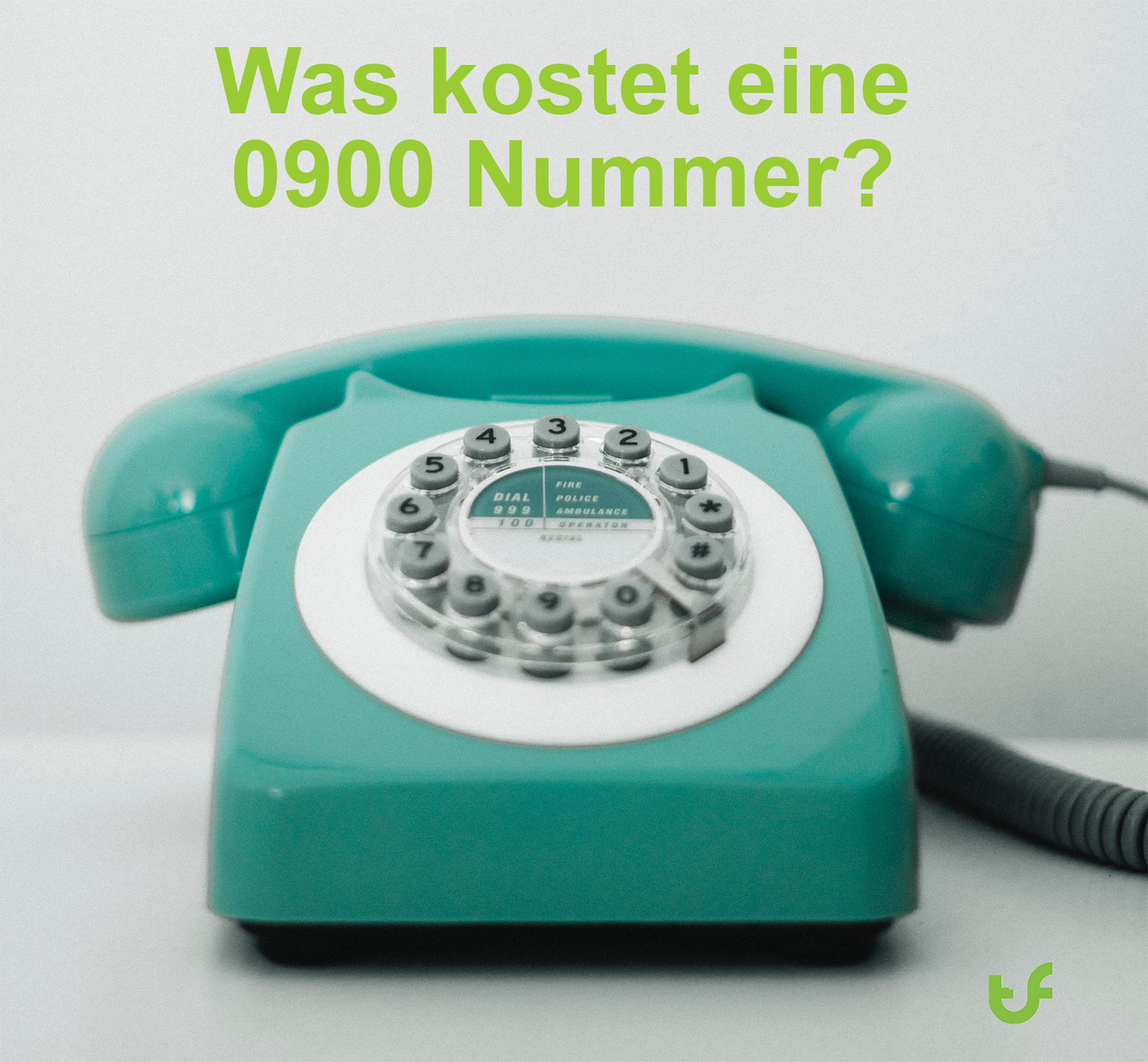 0900 Nummern Kosten